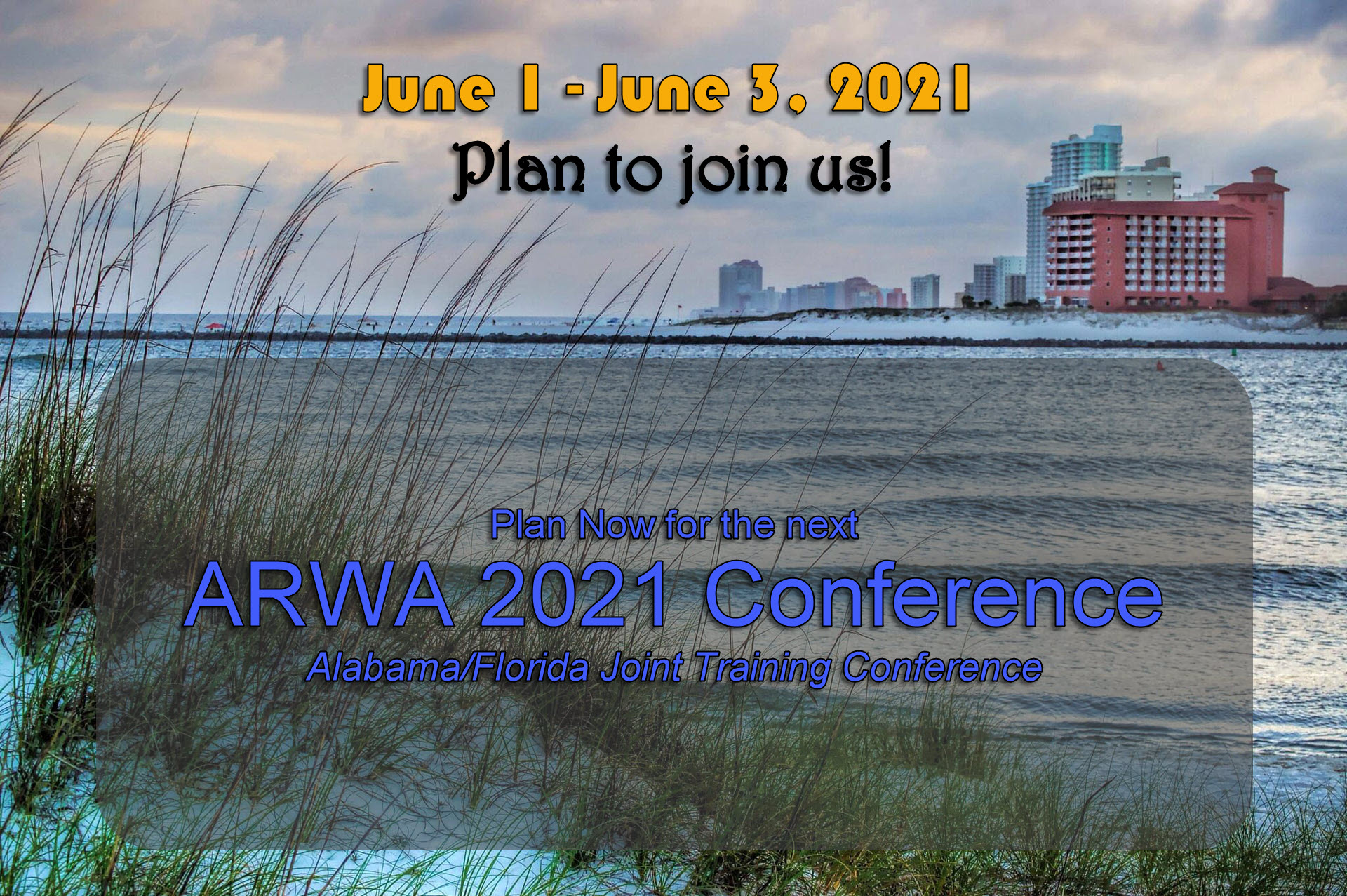 2021 Alabama Florida Joint Technical Training Conference