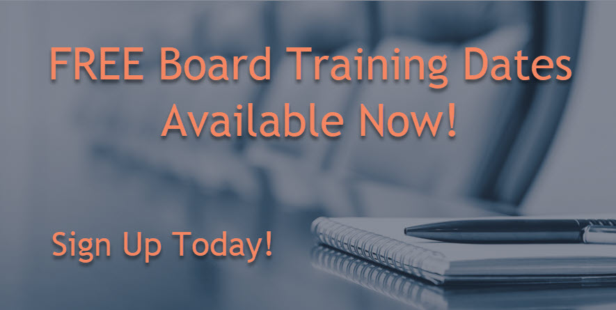 FREE Board Training
